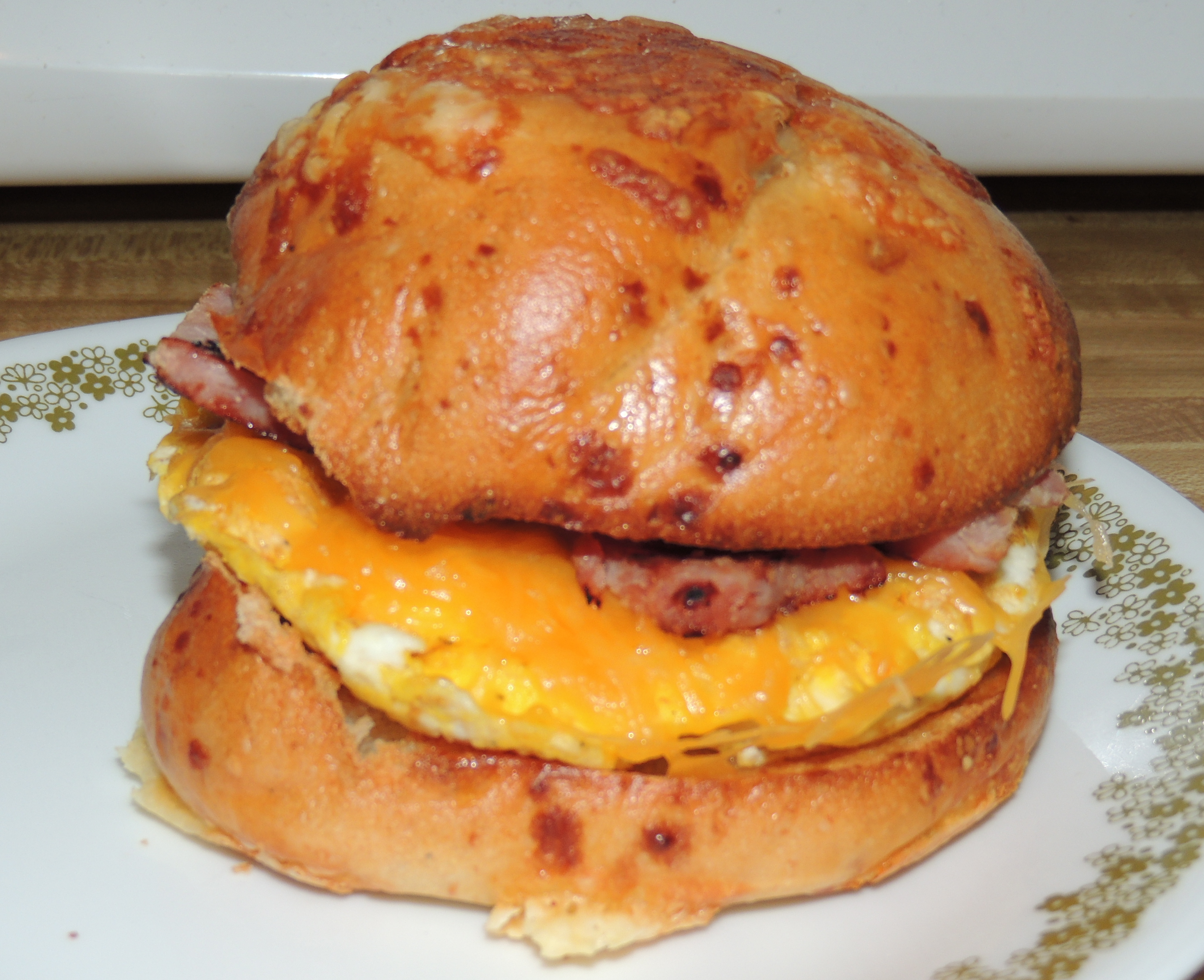 Recipe Exchange: Ham and Egg Bagel Sandwich | Truly ...