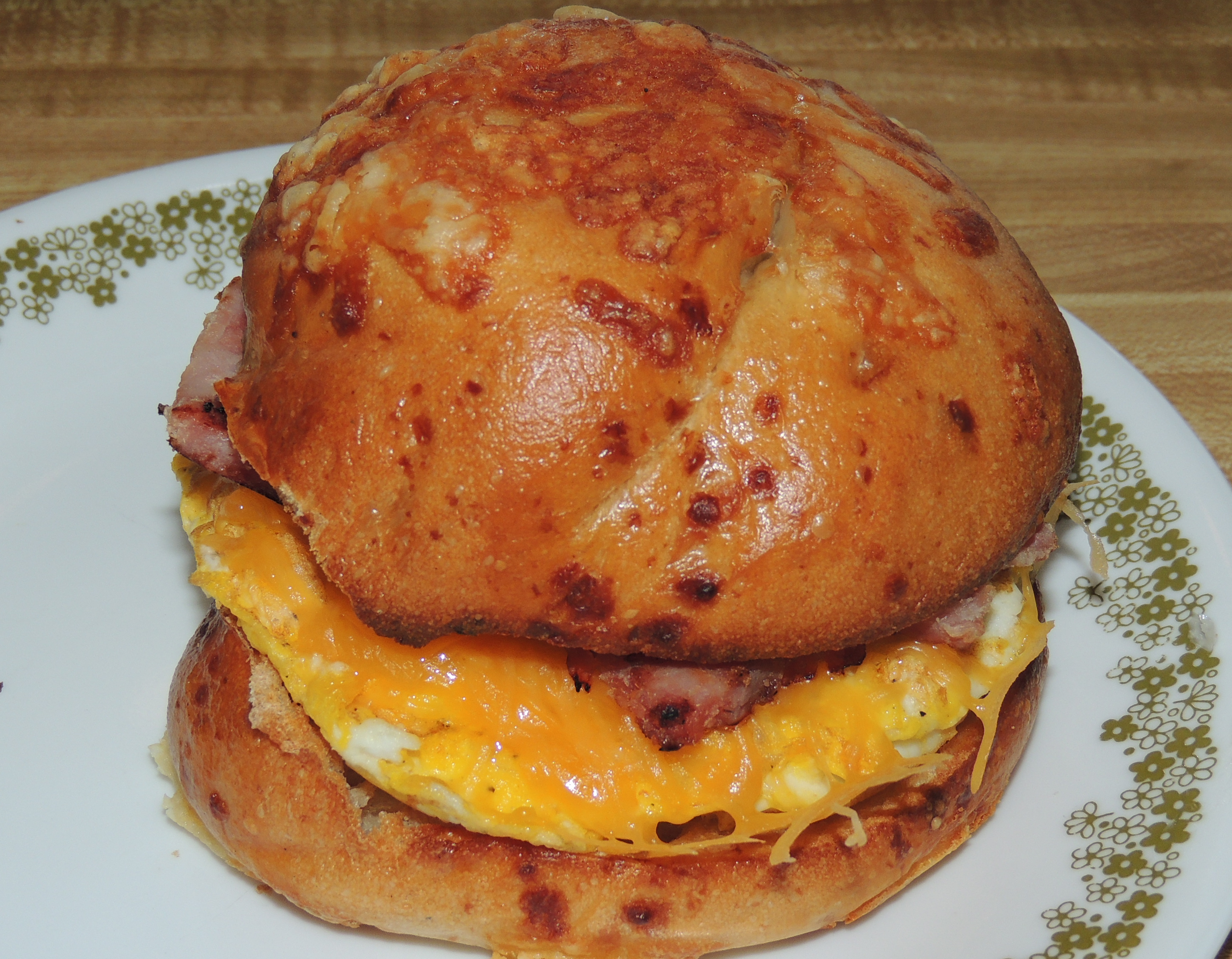 Recipe Exchange: Ham and Egg Bagel Sandwich – Truly ...